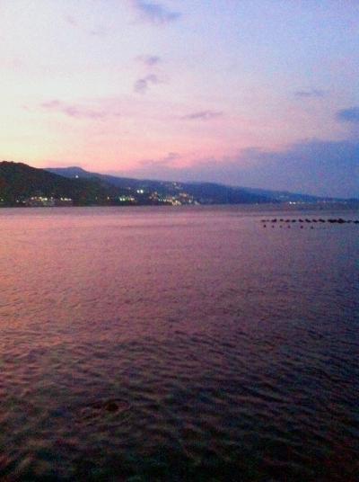 熱海の夜景も一望