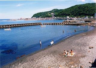平鶴の目の前 大縄海水浴場です