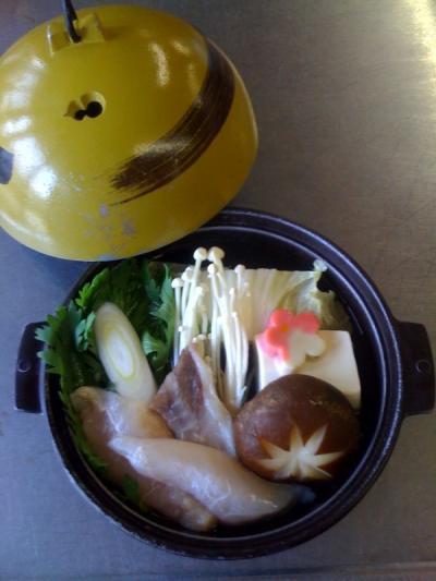 3月は「ふぐちり鍋」をご用意いたします。